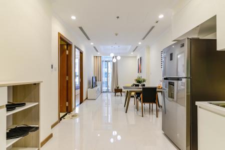 Căn hộ Vinhomes Central Park 1 phòng ngủ tầng cao L4 nội thất đầy đủ