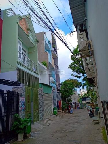 Hẻm Nhà phố hẻm đường số 8, Bình Tân  Nhà phố đường số 8 diện tích đất 4m x17m, nhà hướng chính Đông