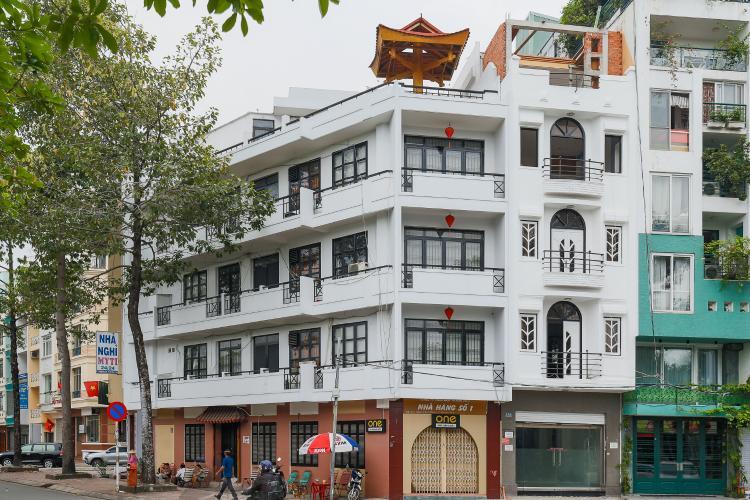 Nhà phố 9 phòng ngủ đường Nguyễn Đình Chiểu Quận 1