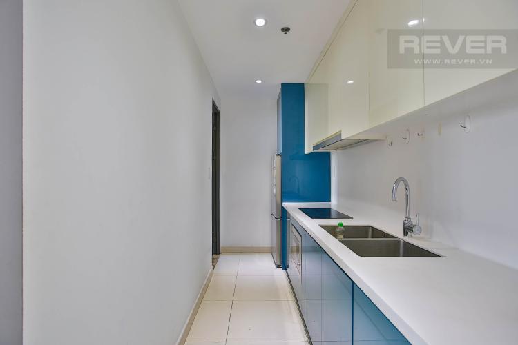 Bếp Bán căn hộ Masteri Thảo Điền tầng trung, 2PN, view hồ bơi và bao quát thành phố