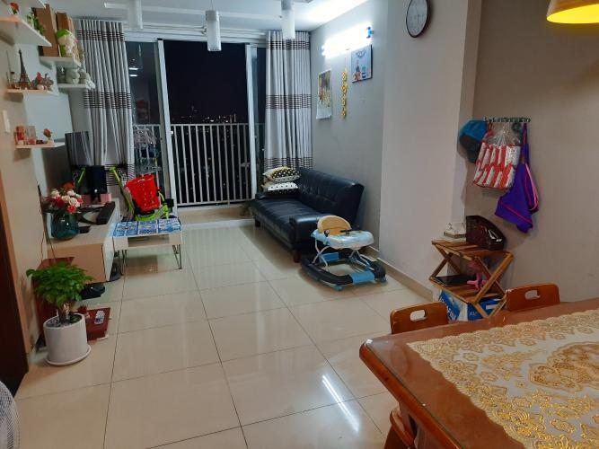 Phòng khách The Harmona, Tân Bình Căn hộ The Harmona tầng cao hướng Đông, view thành phố.
