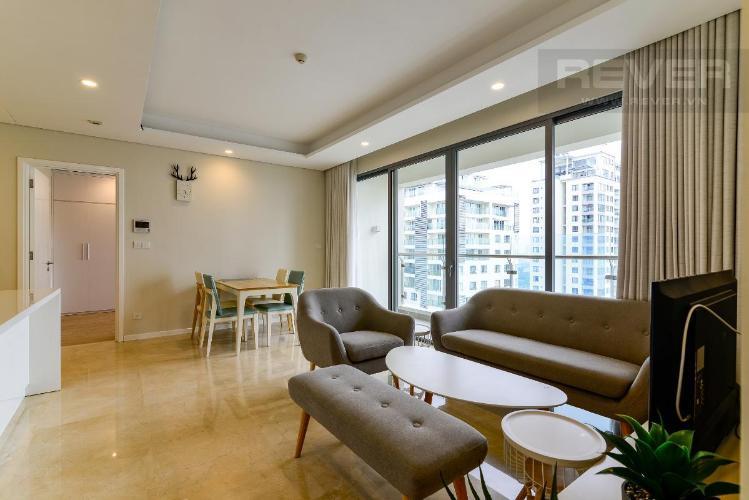 Cho thuê căn hộ Diamond Island - Đảo Kim Cương 2 phòng ngủ, tầng 21, diện tích 82m2, đầy đủ nội thất