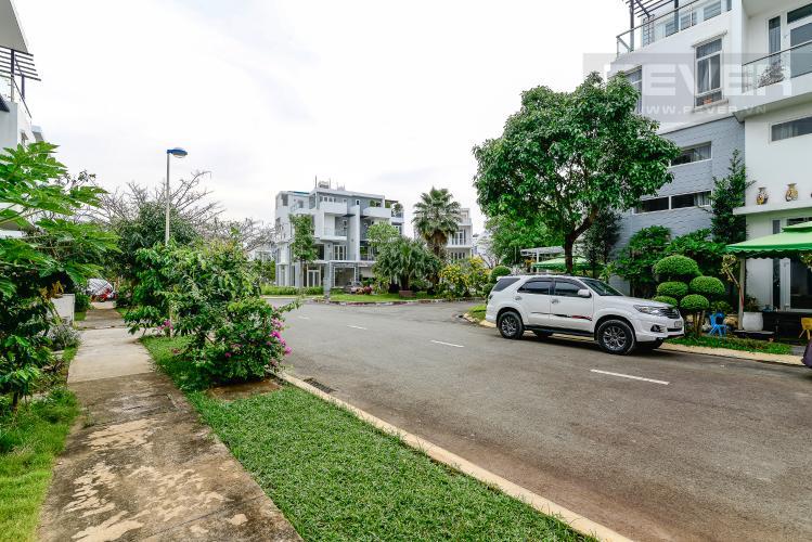 Lộ Giới Biệt thự H28 Villa Park Quận 9 3PN, đầy đủ nội thất