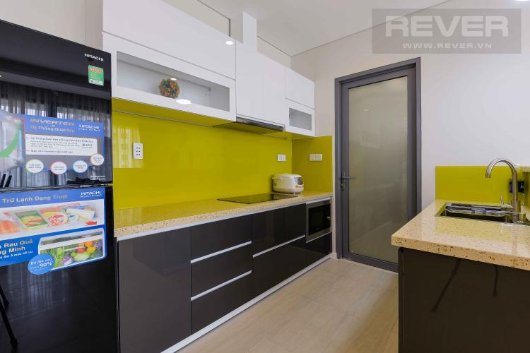 Bếp Bán hoặc cho thuê căn hộ Đảo Kim Cương 2 phòng ngủ tháp Hawaii, đầy đủ nội thất, view nội khu đẹp