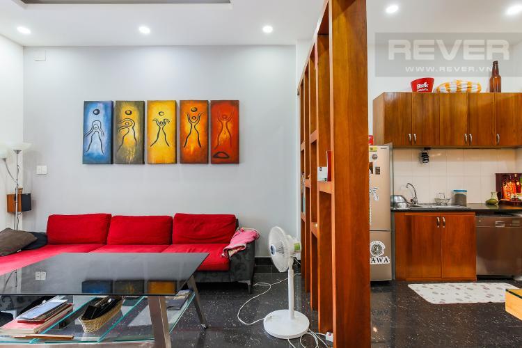 Phòng Khách Nhà phố 3 phòng ngủ đường Dương Bá Trạc Quận 8
