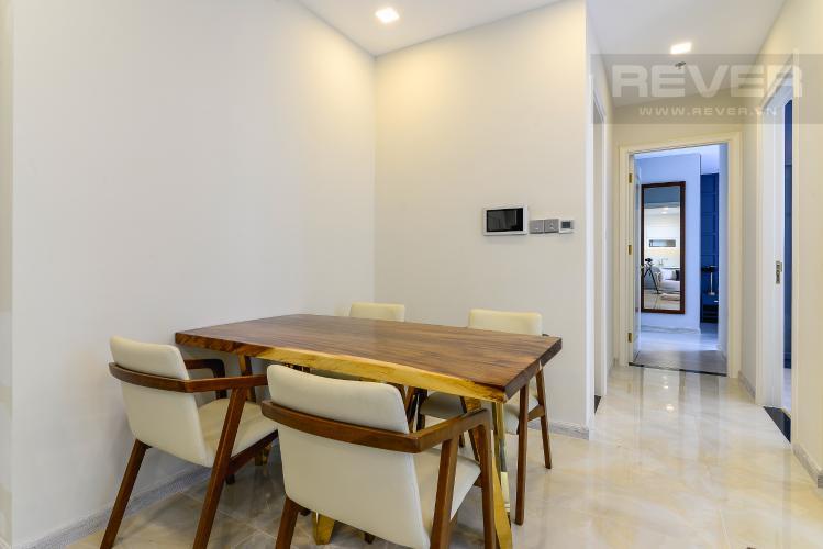 Phòng Ăn Căn hộ Vinhomes Golden River tầng cao, 2PN 1WC, nội thất đầy đủ, view sông