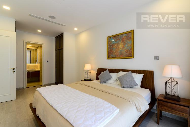 Phòng Ngủ 1 Cho thuê căn hộ Vinhomes Golden River 2PN, tầng cao, tháp The Aqua 1, đầy đủ nội thất