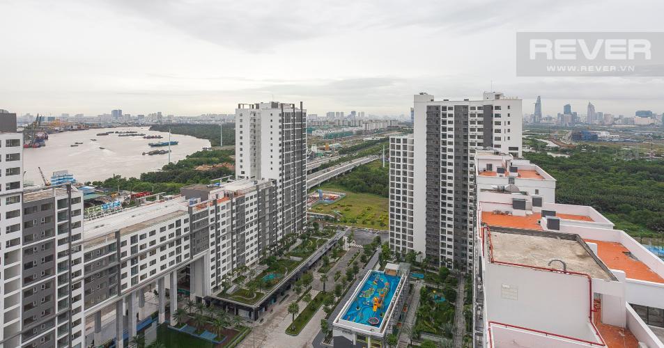 View Căn hộ New City Thủ Thiêm 2 phòng ngủ tầng cao tháp BB hướng Tây Nam