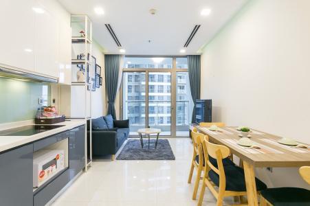 Căn hộ Vinhomes Central Park 2PN, đầy đủ nội thất