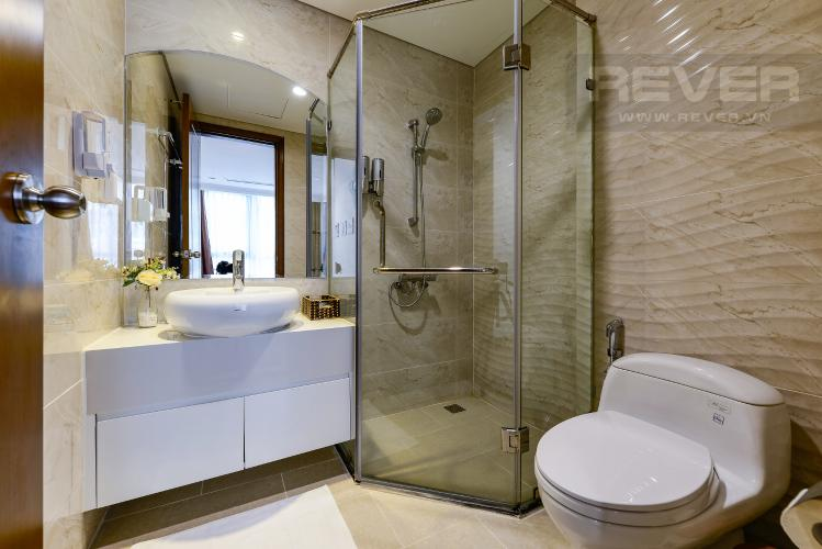 Phòng tắm 1 Căn hộ Vinhomes Central Park tầng thấp Landmark 5, view sông