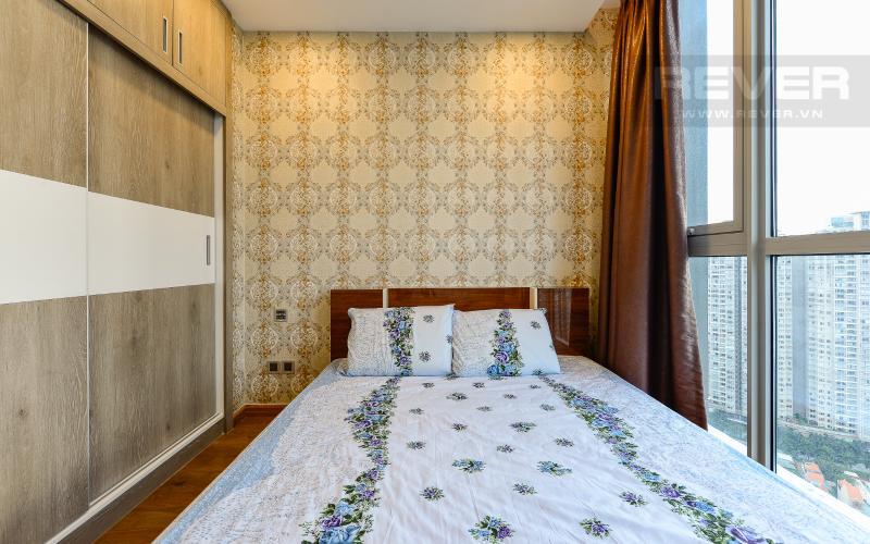 phòng ngủ 1 Căn hộ Vinhomes Central Park tầng cao Park 6 thiết kế hiện đại, sang trọng