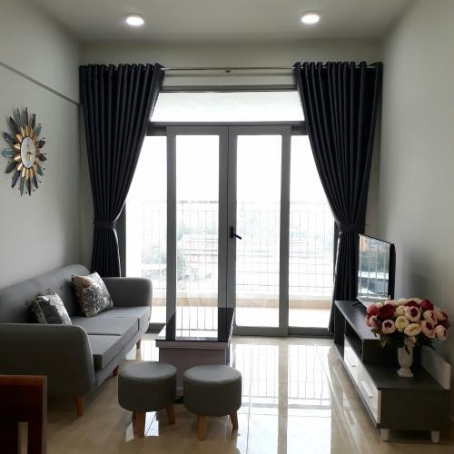 Phòng khách Lux Garden Quận 7 Căn hộ Lux Garden tầng thấp, 2 phòng ngủ, đầy đủ nội thất.