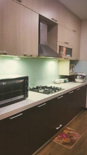 Phòng bếp Lexington Residence Quận 2 Căn hộ Lexington Residence nội thất tiện nghi, view thoáng mát.