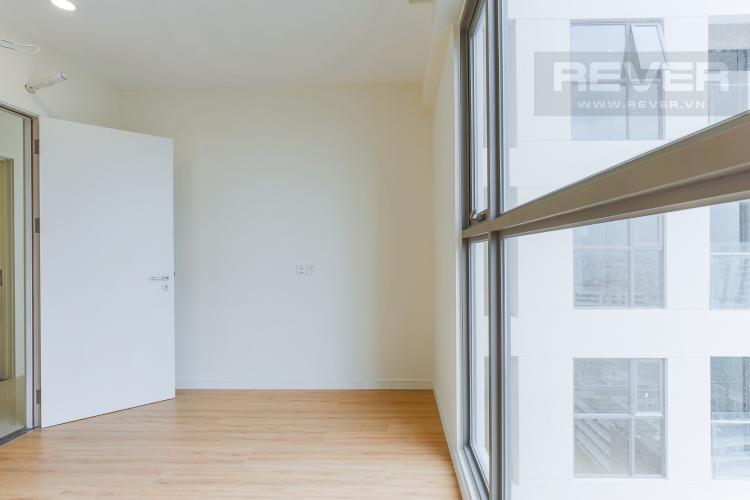 Phòng Ngủ 2 Căn hộ Masteri Millennium tầng cao, tháp A, 2 phòng ngủ, view hồ bơi