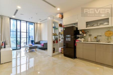Cho thuê căn hộ Vinhomes Golden River 1PN, diện tích 44m2, đầy đủ nội thất, view sông và Landmark 81