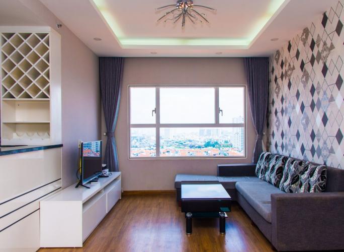 Cho thuê căn hộ Sunrise City 2PN, tầng trung, tháp W2 khu Central Plaza,  hướng Đông, đầy đủ nội thất