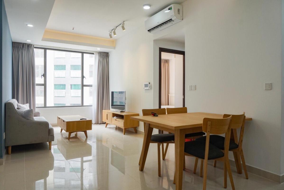 43ee298d0bdded83b4cc Cho thuê căn hộ The Tresor 2 phòng ngủ, tháp TS1, diện tích 73m2, đầy đủ nội thất, hướng Đông Nam