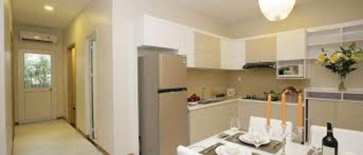 Phòng bếp Dream Home Riverside, Quận 8 Căn hộ Dream Home Riverside view thoáng mát, nội thất cơ bản.