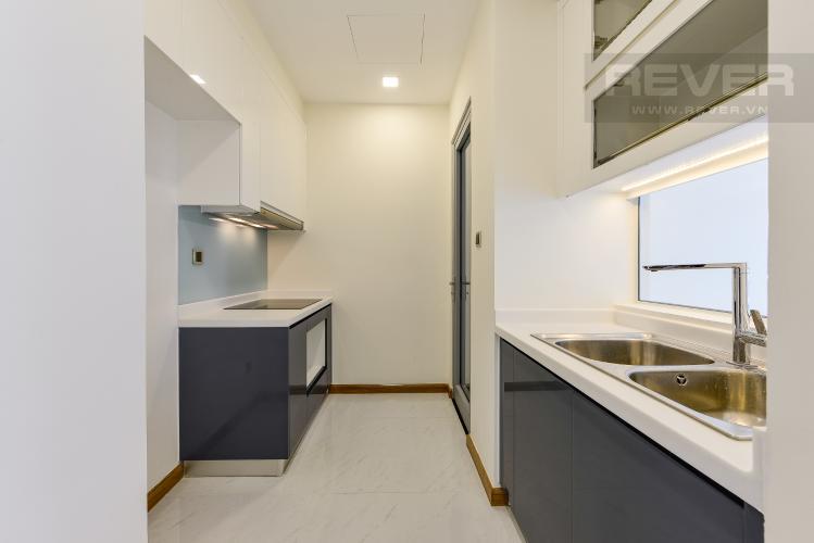 Bếp Căn hộ Vinhomes Central Park 2 phòng ngủ, tầng trung P5, nội thất cơ bản