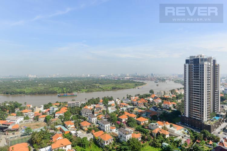 View Căn hộ Masteri Thảo Điền tầng cao, 2PN đầy đủ nội thất, view sông