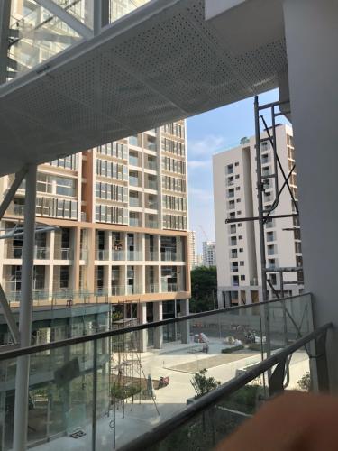 Ban công Bán căn hộ 1 phòng ngủ tầng thấp Phú Mỹ Hưng Midtown, diện tích 42.9m2, bàn giao thô.