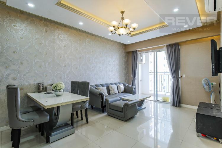 Phòng Khách Căn hộ Galaxy 9 3 phòng ngủ tầng thấp nội thất đầy đủ