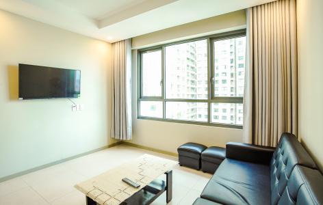 Cho thuê căn hộ The Gold View 2PN, tháp B, nội thất cơ bản, view rạch Bến Nghé