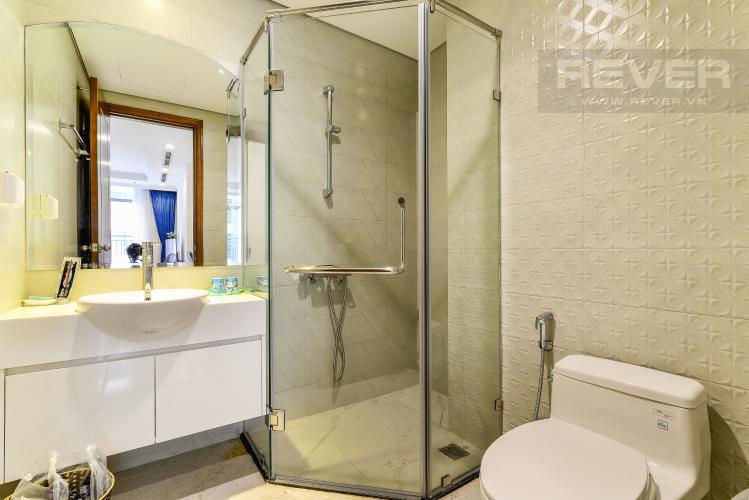 Phòng Tắm 1 Căn hộ Vinhomes Central Park tầng trung 3PN đầy đủ nội thất, view hồ bơi