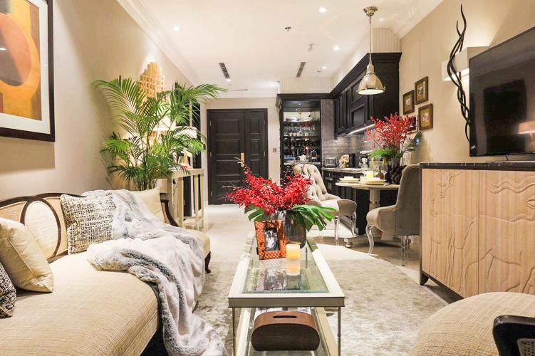 Bán căn hộ Vinhomes Golden River 1 phòng ngủ, đầy đủ nội thất, thiết kế bắt mắt, view sông Sài Gòn