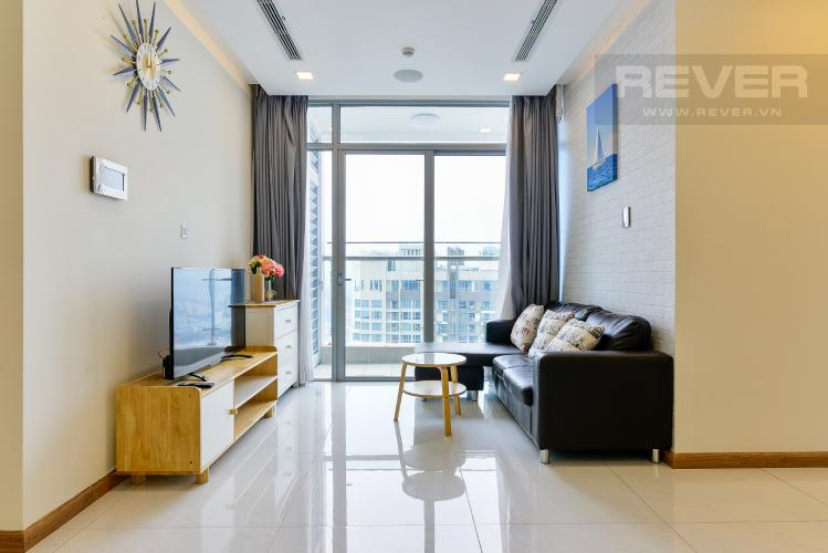 can-ho-vinhomes-central-park Cho thuê căn hộ Vinhomes Central Park 2PN, tầng cao, đầy đủ nội thất, view nội khu và đường Nguyễn Hữu Cảnh