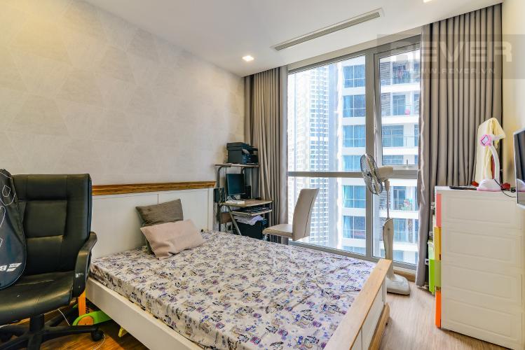 Phòng Ngủ 2 Căn hộ Vinhomes Central Park tầng trung Park 7 đầy đủ nội thất