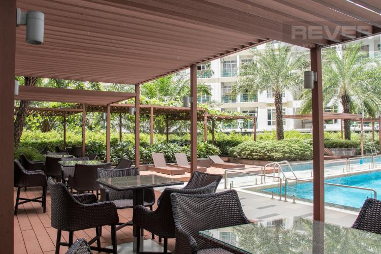 Hồ Bơi Bán căn hộ Him Lam Riverside 3PN, tháp 1, nội thất cơ bản, view công viên và hồ bơi