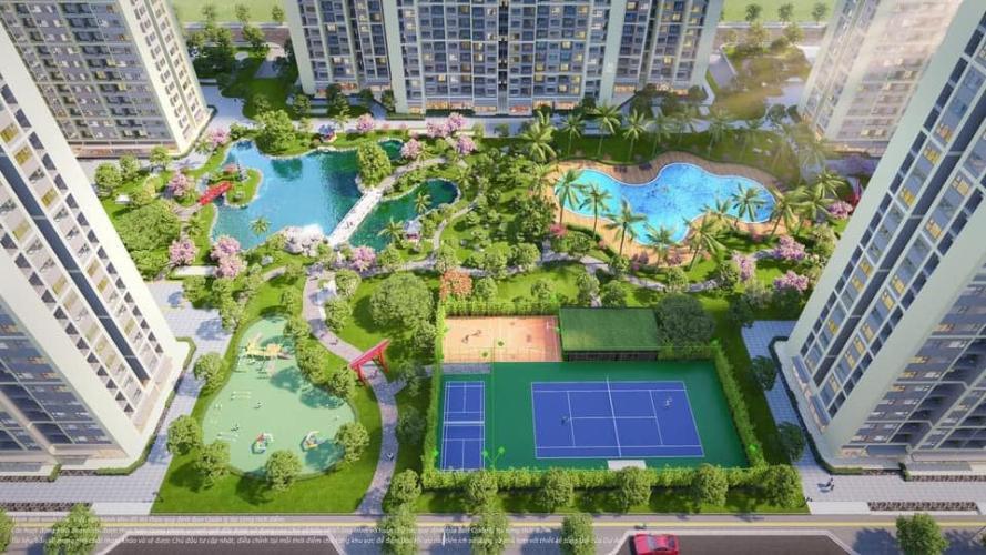 Tiện ích căn hộ Vinhomes Grand Park Căn hộ Vinhomes Grand Park tầng thấp nội thất đầy đủ, view nội khu.