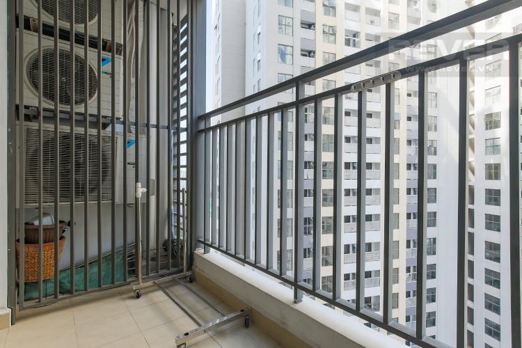 Balcony Căn hộ The Tresor tầng cao, 2PN, đầy đủ nội thất
