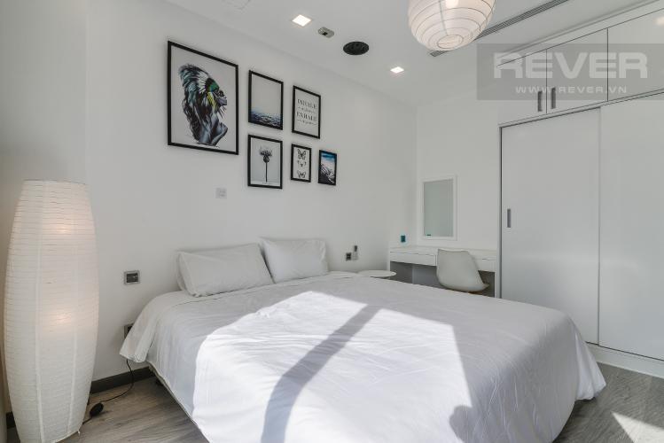 Phòng Ngủ Căn hộ Vinhomes Central Park tầng cao P6, 1PN nội thất đầy đủ