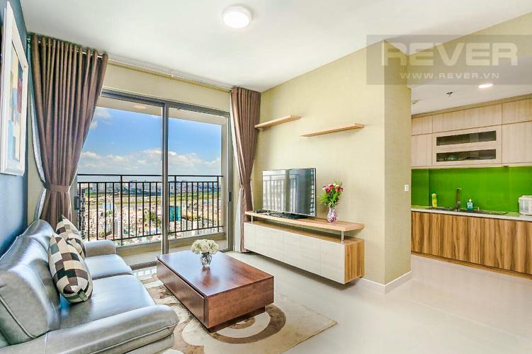 Phòng Khách Bán căn hộ RiverGate Residence hướng Đông Bắc, 114m2, view thành phố