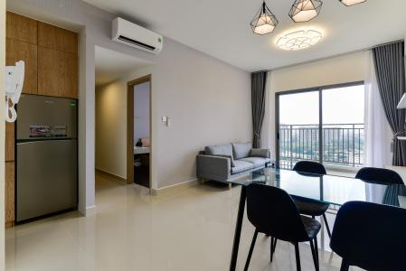 Cho thuê căn hộ The Sun Avenue 3 phòng ngủ, tầng cao block 5, đầy đủ nội thất cao cấp