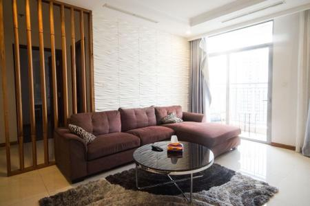 Cho thuê căn hộ Vinhomes Central Park, nội thất đầy đủ, view thành phố.