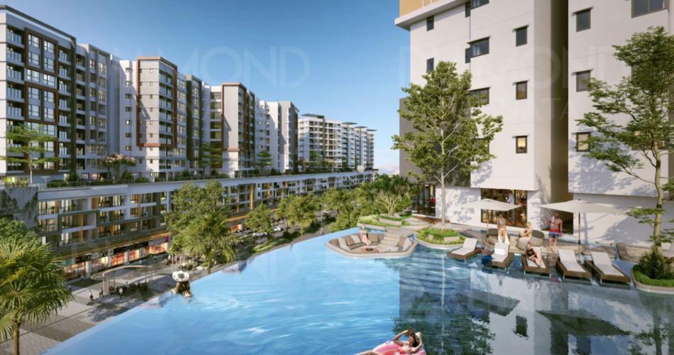 Dự án căn hộ Diamond Alnata, Tân Phú Căn hộ Diamond Alnata diện tích 90m2, thiết kế hiện đại