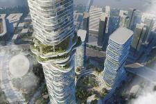 """Ruộng bậc thang """"lơ lửng trên mây"""" tại dự án Empire 88 Tower - Empire City"""