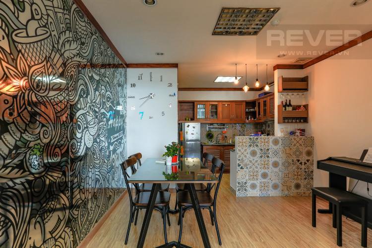 Phòng Ăn Và Bếp Căn hộ New Sài Gòn, tầng trung, tòa C, 2 phòng ngủ, full nội thất.
