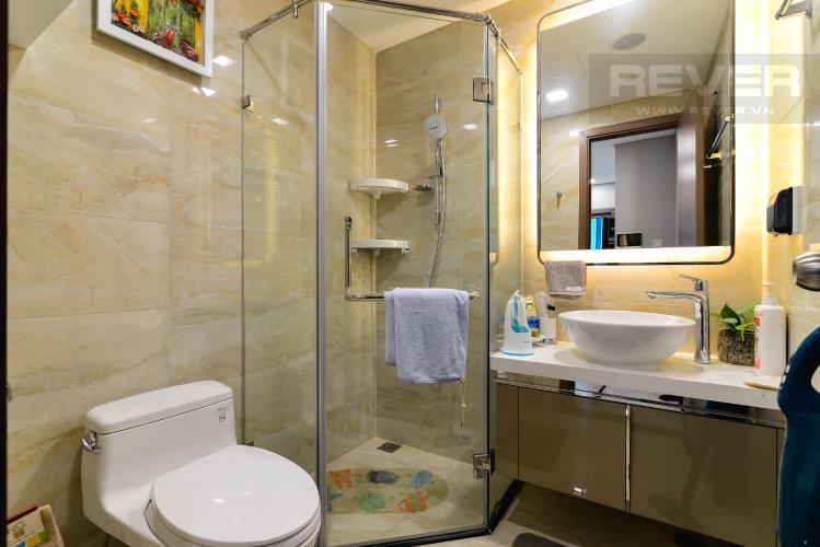 Phòng Tắm Cho thuê căn hộ Vinhomes Central Park tầng cao, 2PN đầy đủ nội thất tiện nghi, sang trọng