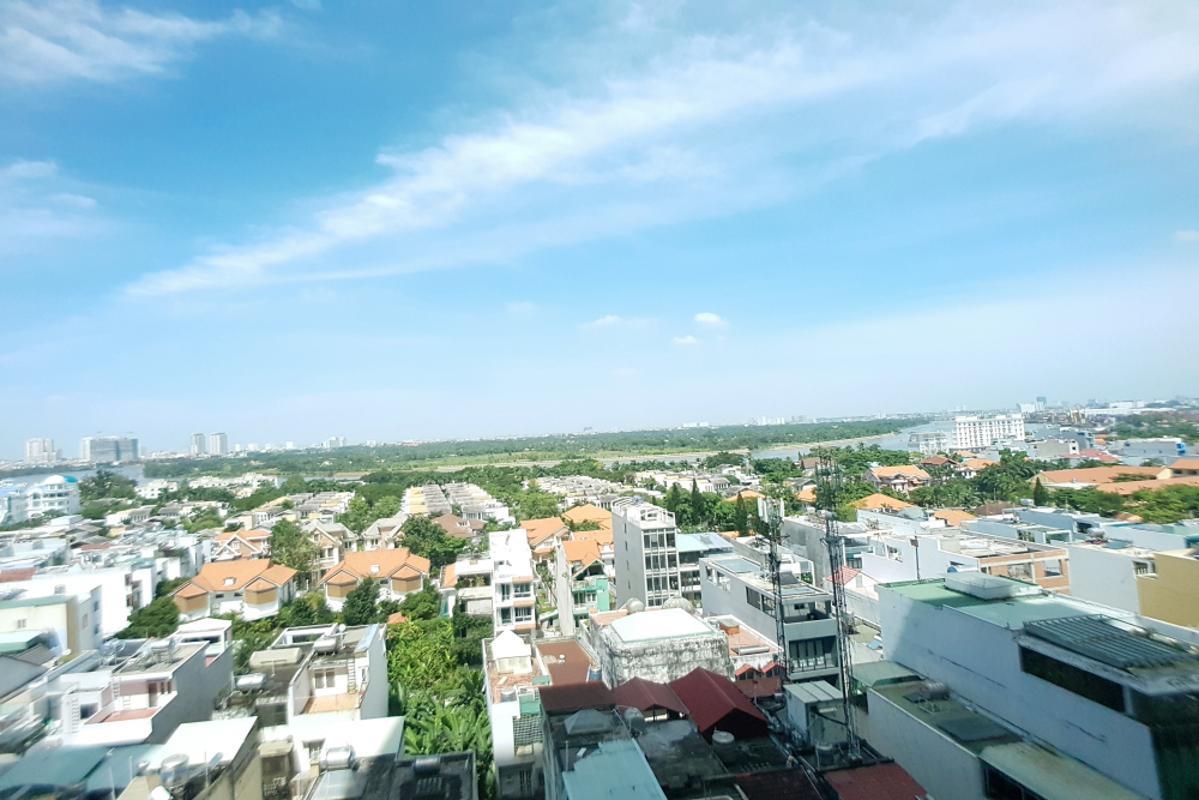 View Bán hoặc cho thuê căn hộ The Vista An Phú 2PN, tháp T4, đầy đủ nội thất, view sông thoáng mát
