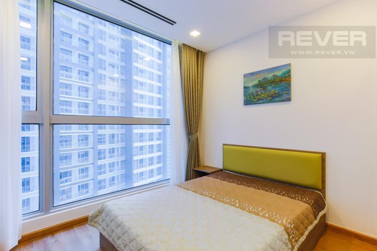 Phòng Ngủ 1 Căn hộ Vinhomes Central Park trung tầng Park 1 thiết kế hiện đại, view sông