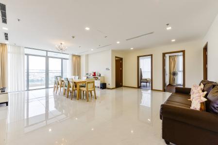 Căn hộ Vinhomes Central Park 4 phòng ngủ tầng trung P3 view trực diện sông
