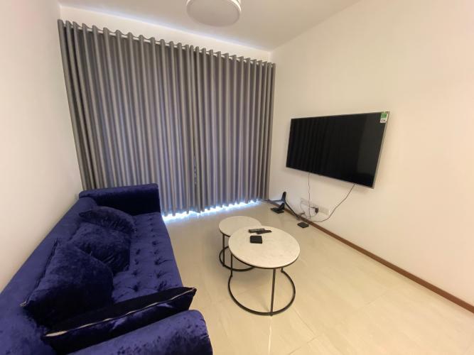 Phòng khách One Verandah Quận 2 Căn hộ One Verandah tầng thấp, view thành phố và sông.
