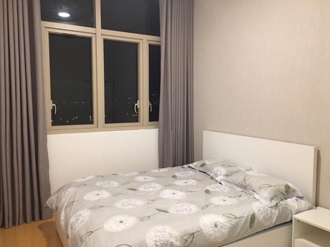 Phòng ngủ Bán căn hộ The Vista An Phú 2PN, tháp T2, đầy đủ nội thất, hướng Tây Bắc