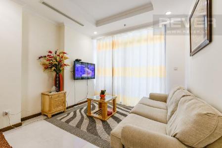 Cho thuê căn hộ Vinhomes Central Park tầng cao, 2PN 2WC, view thành phố