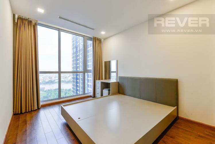 Phòng ngủ 1 Căn hộ Vinhomes Central Park 3 phòng ngủ tầng trung P6 view sông