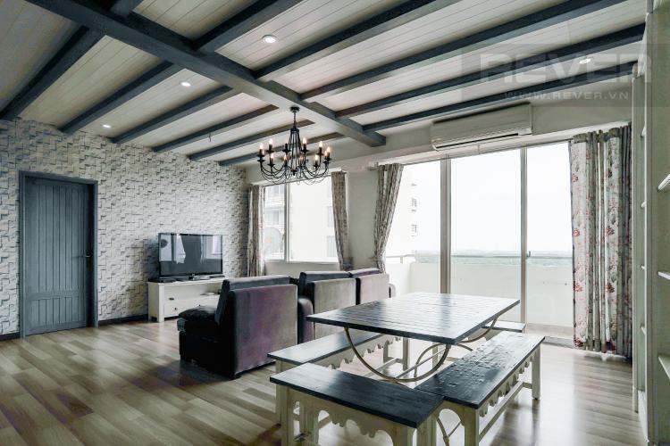 Phòng Ăn Bán căn hộ Grand View Quận 7 tầng thấp 2PN đầy đủ nội thất